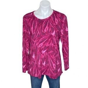 H By Halston Pink Top